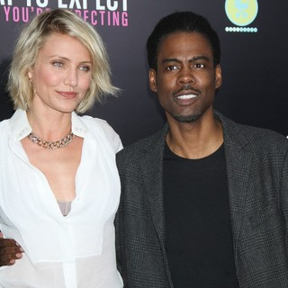 Cameron Diaz, Chris Rock in What to Expect When You're Expecting New York Premiere