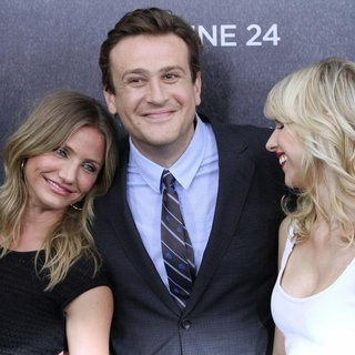 Cameron Diaz, Jason Segel, Lucy Punch in World Premiere of Bad Teacher - Arrivals
