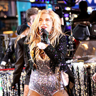Ke$ha in Dick Clark's New Year's Rockin' Eve with Ryan Seacrest