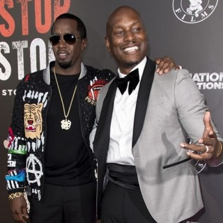 P. Diddy, Tyrese Gibson in Los Angeles Premiere of Can't Stop, Won't Stop: The Bad Boy Story - Arrivals