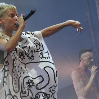 Yo-Landi Vi$$er, Ninja, Die Antwoord in Big Day Out Festival