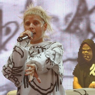 Yo-Landi Vi$$er, DJ Hi-Tek, Die Antwoord in Big Day Out Festival