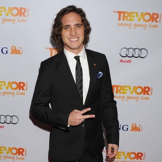 Diego Boneta in The Trevor Project's 2011 Trevor Live! - Arrivals
