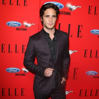 Diego Boneta in ELLE Women in Music 2012