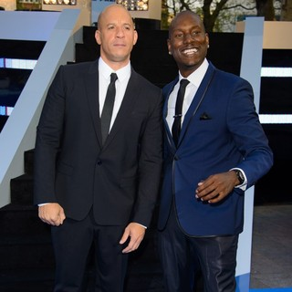 Vin Diesel, Tyrese Gibson in World Premiere of Fast and Furious 6 - Arrivals