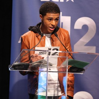 Diggy Simmons in BET Awards 12 Nominations Press Conference