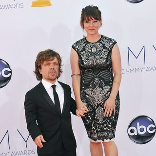 Peter Dinklage, Erica Schmidt in 64th Annual Primetime Emmy Awards - Arrivals