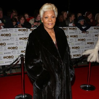 Dionne Warwick in The MOBO Awards 2012 - Arrivals