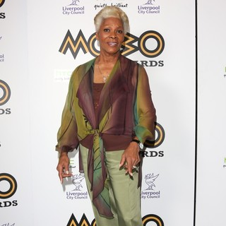 Dionne Warwick in The MOBO Awards 2012 - Press Room
