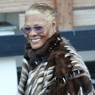 Dionne Warwick in ionne Warwick Outside The ITV Studios