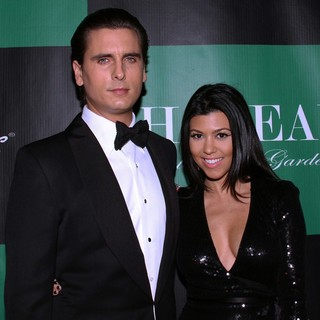 Scott Disick, Kourtney Kardashian in New Year's Eve Party - Arrivals