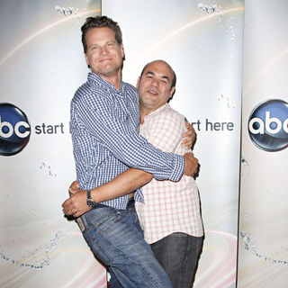 Brian Van Holt, Ian Gomez in Disney/ABC Television Group Summer Press Junket - Arrivals