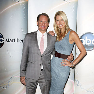 Carson Kressley, Beth Ostrosky in Disney/ABC Television Group Summer Press Junket - Arrivals