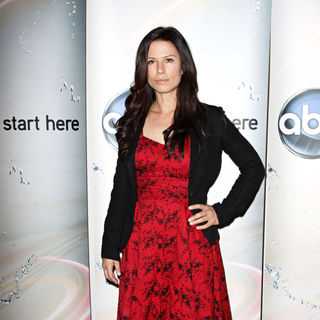 Rhona Mitra in Disney/ABC Television Group Summer Press Junket - Arrivals