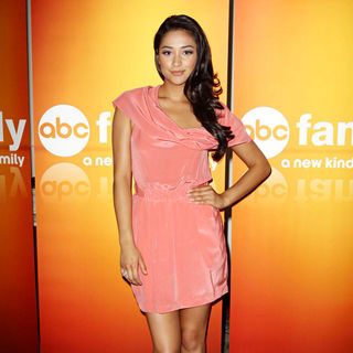 Shay Mitchell in Disney/ABC Television Group Summer Press Junket - Arrivals