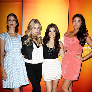 Troian Avery Bellisario, Ashley Benson, Lucy Hale, Shay Mitchell in Disney/ABC Television Group Summer Press Junket - Arrivals