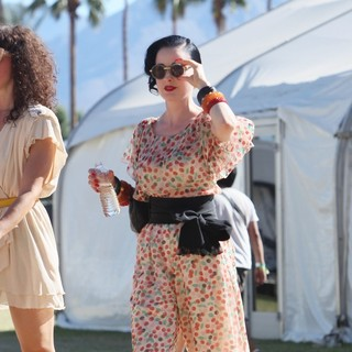 Dita Von Teese - Celebrities at The 2012 Coachella Valley Music and Arts Festival - Week 2 Day 1