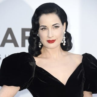Dita Von Teese in 66th Cannes Film Festival - amfAR's 20th Annual Cinema Against AIDS - Arrivals