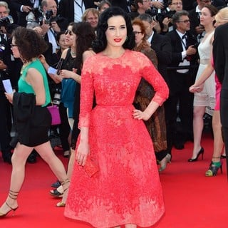 66th Cannes Film Festival - Behind the Candelabra Premiere - dita-von-teese-behind-the-candelabra-premiere-01