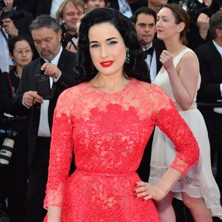 Dita Von Teese in 66th Cannes Film Festival - Behind the Candelabra Premiere
