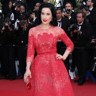 66th Cannes Film Festival - Behind the Candelabra Premiere - dita-von-teese-behind-the-candelabra-premiere-04