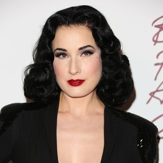 Dita Von Teese in The British Fashion Awards 2012 - Arrivals
