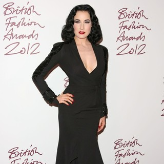 The British Fashion Awards 2012 - Arrivals