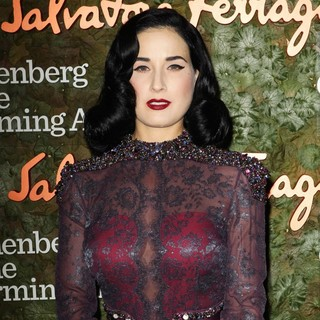 Dita Von Teese in Opening Night Gala of The Wallis Annenberg Center for The Performing Arts