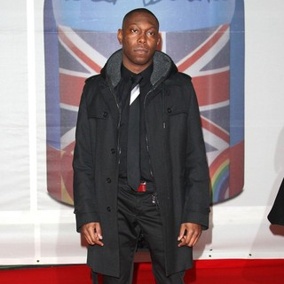 Dizzee Rascal in The BRIT Awards 2012 - Arrivals