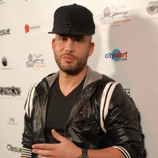 DJ Drama in Dwayne Wade NBA Press Party