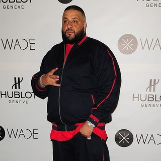 DJ Khaled in Bal Harbour Boutique Opening and Dwyane Wade's King Power Limited Edition Hublot Swiss Watch