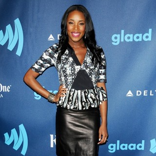 DJ Kiss in 24th Annual GLAAD Media Awards - Arrivals