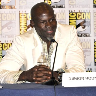 Djimon Hounsou in Comic-Con International 2013 - Guardians of the Galaxy - Press Conference