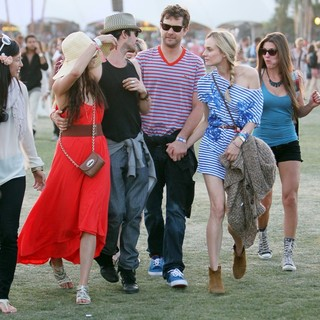 Nina Dobrev, Ian Somerhalder, Joshua Jackson, Diane Kruger in Celebrities at The 2012 Coachella Valley Music and Arts Festival - Day 3