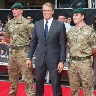 Dolph Lundgren in The Expendables 2 UK Premiere - Arrivals