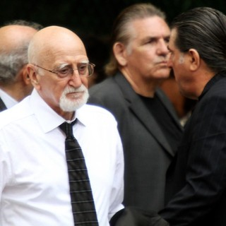 Dominic Chianese in The Funeral Service for Actor James Gandolfini