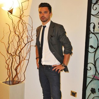 Dominic Cooper in Gala Dinner at Miramare Restaurant During 10th Ischia Global Festival