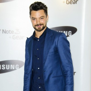 Dominic Cooper in Samsung Galaxy Gear and Galaxy Note 3 UK Launch - Arrivals