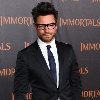 Dominic Cooper in Immortals 3D Los Angeles Premiere