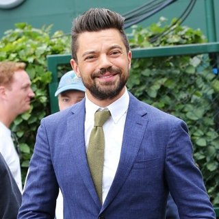 Dominic Cooper in Wimbledon Tennis Championships - Day 1