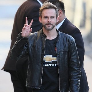 Dominic Monaghan in Dominic Monaghan Seen Arriving for Jimmy Kimmel Live