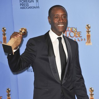 Don Cheadle in 70th Annual Golden Globe Awards - Press Room