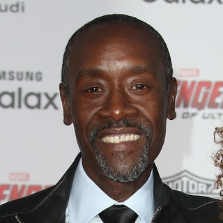 Don Cheadle in Los Angeles Premiere of Marvel's Avengers: Age of Ultron - Arrivals