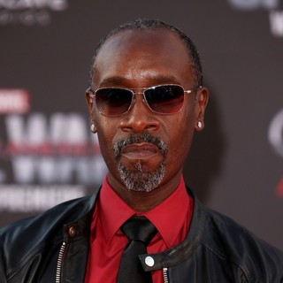 Don Cheadle in The World Premiere of Captain America: Civil War