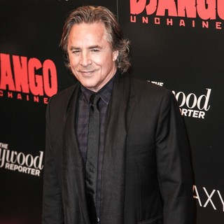 Don Johnson in The Premiere of Django Unchained