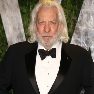 Donald Sutherland in 2012 Vanity Fair Oscar Party - Arrivals