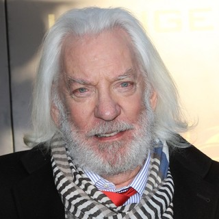 Donald Sutherland in Los Angeles Premiere of The Hunger Games - Arrivals