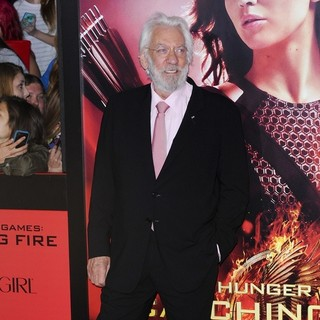 The Hunger Games: Catching Fire Premiere - donald-sutherland-premiere-the-hunger-games-catching-fire-09