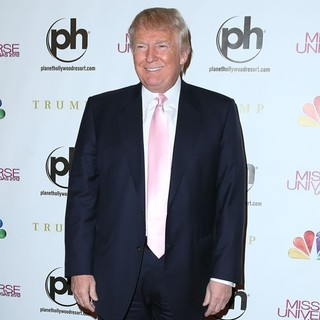 Donald Trump in 2012 Miss Universe Pageant - Arrivals