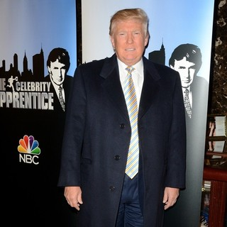 Donald Trump in The Celebrity Apprentice Red Carpet Event